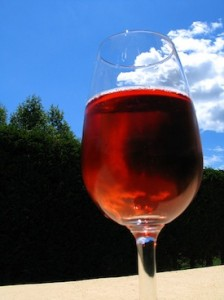 Rose wine by Flickr user Gak
