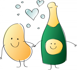 Chip and bubbly love