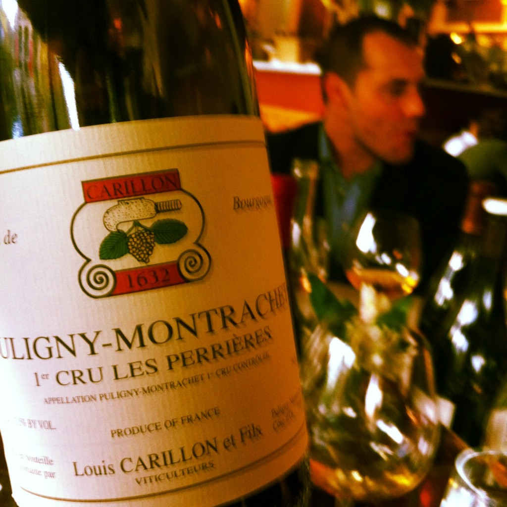 A little Carillon Puligny-Montrachet with David White at Meritage