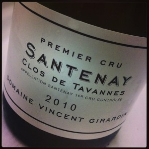 Girardin Santenay Clos de Tavannes