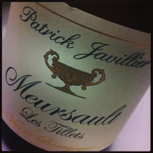 Javillier Meursault Les Tillets