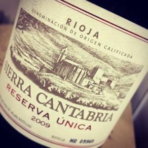 Sierra Cantabria Reserva Unica Rioja