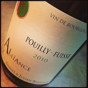 Barraud Pouilly Fuisse Alliance
