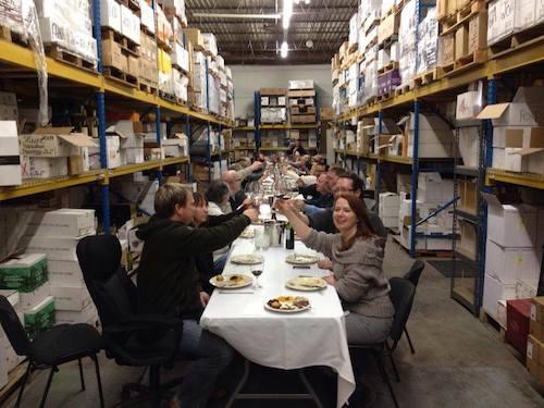 Company lunch Jan 2014