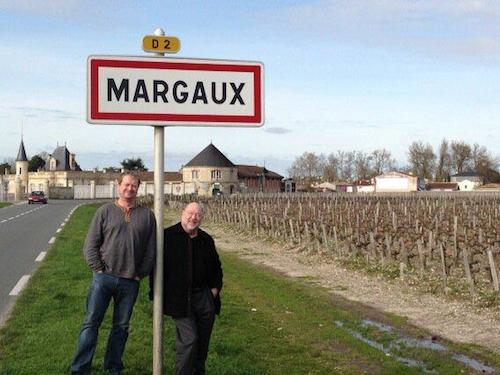 Wil and Larry in Margaux