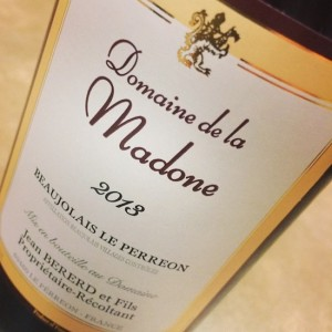 Madone Beaujolais le Perreon
