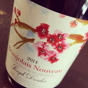 Douhin Beaujolais Nouveau 2014
