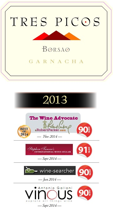 2013 Tres Picos receives high acclaim