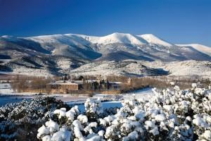 Borsao's eponymous Tres Picos in winter