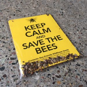 Keep Calm and SAVE THE BEES