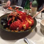 Paella with Rioja