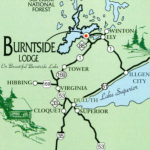 Burntside Lodge map