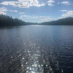 Loon Lake under the sun