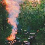 Poplar Haus campfire