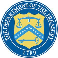 US Dept of the Treasury seal